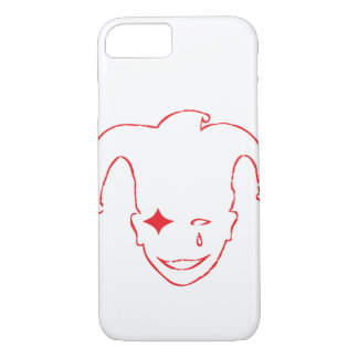 White And Red MTJ iPhone 7 Case