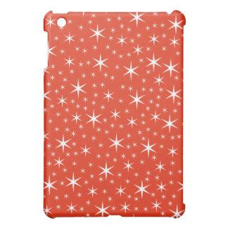 White and Red Star Pern. iPad Mini Case