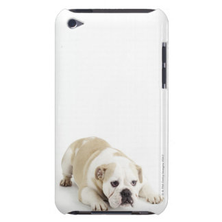 White and tan bulldog iPod Case-Mate case