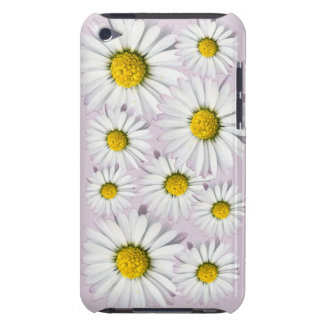 White and yellow daisies floral print iPod touch Case-Mate case