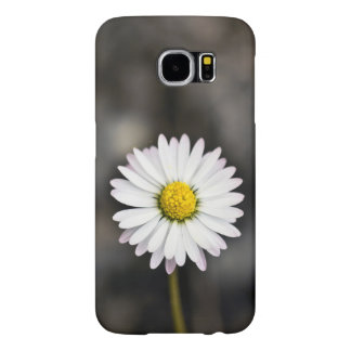 White and Yellow Daisy Samsung Galaxy S6 Cases