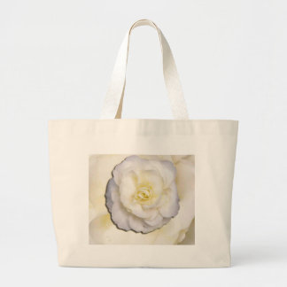 White and yellow flower bags