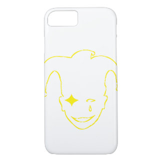 White And Yellow MTJ iPhone 7 Case