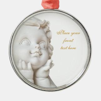 White Angel Christmas Ornament