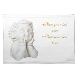 White Angel Placemat