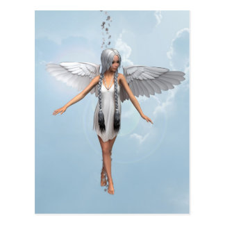 White Angel Postcard