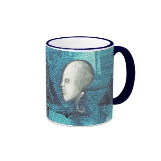 white angel ringer mug