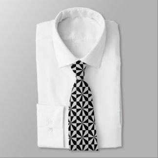 White Angles Tie