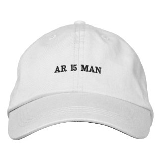 White apparel hat. embroidered hats