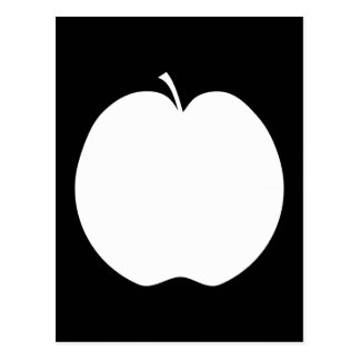 White Apple. Postcard