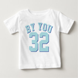 White & Aqua Baby | Sports Jersey Design Shirts