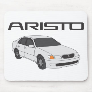 White Aristo Mouse Mat