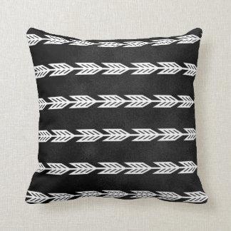 White Arrow Chalkboard Designs Cushion