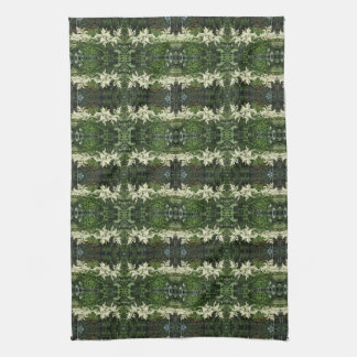 White Astilbe, Gloriosa Daisies Tea Towel