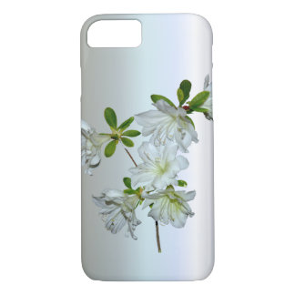 White Azalea Flower in Full Bloom iPhone 7 Case