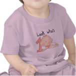 White Baby Girl 1st Birthday Tshirts and Gifts