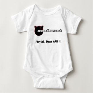 white babygro, Play it!.. Don't AFK it! Tees