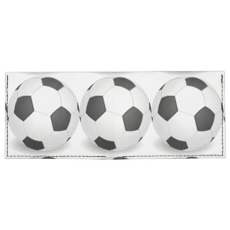White Ball Wallet