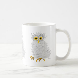 White Barn Owl Coffee Mug