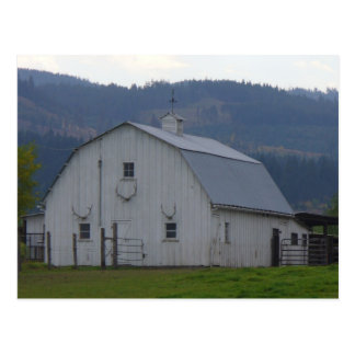 White Barn Postcard