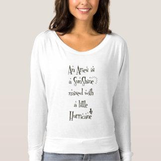 White Basic T-shirt for Aries Women