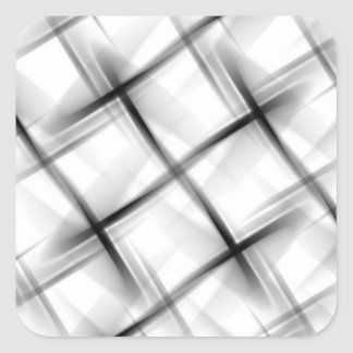 White basket weave texture. square stickers