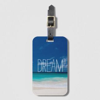 White Beach, Blue sky and Dream Bag Tag