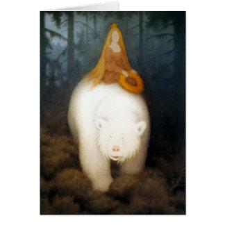 White Bear King Valemon Greeting Cards