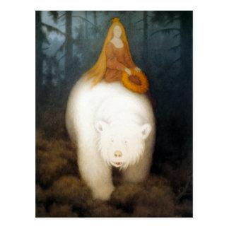 White Bear King Valemon Post Card