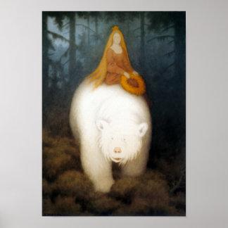 White Bear King Valemon Poster