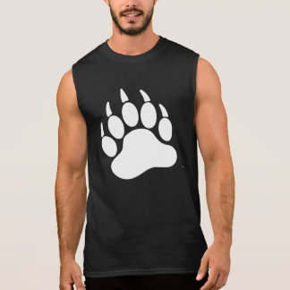 White Bear Pride Bear Claw (L) Sleeveless Shirt