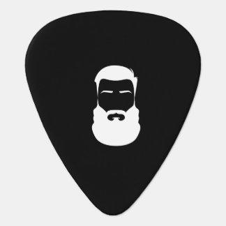 White Beard Guitar Picks Plectrum
