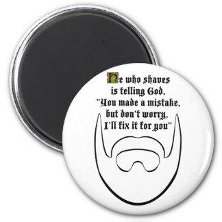 white beard fridge magnets