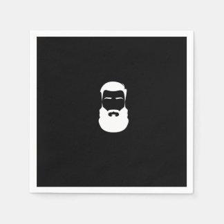 White Beard Paper Napkins Disposable Serviette