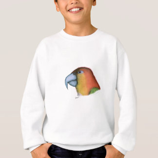 white bellied caique, tony fernandes sweatshirt
