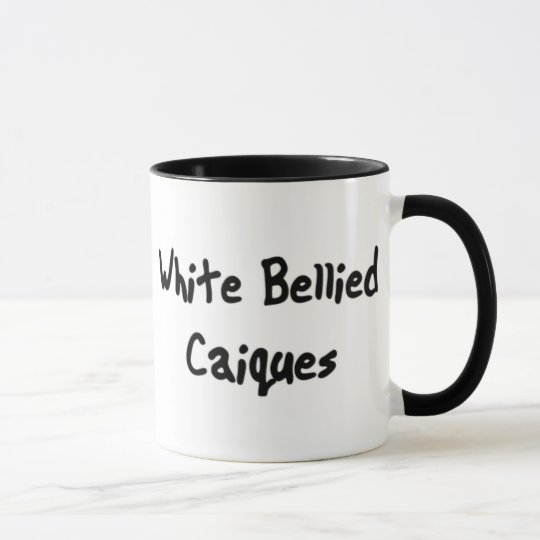 White Bellied Caiques Mug