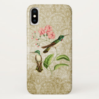 White Bellied Mountain Gem Hummingbird iPhone X Case