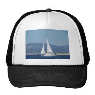 White Beneteau Sloop Hat