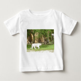 White Bengal Tiger Baby T-Shirt