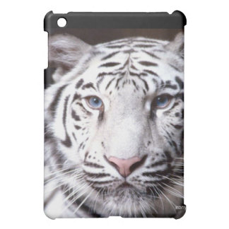 White Bengal Tiger Photography iPad Mini Cover