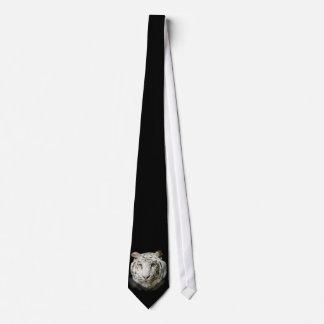 White Bengal Tiger  Tie