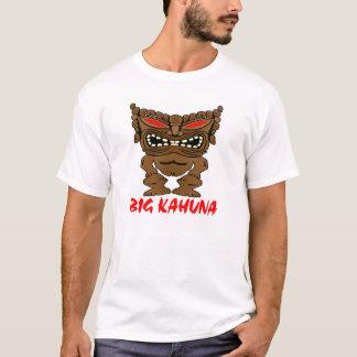 White Big Kahuna Tiki God T-Shirt