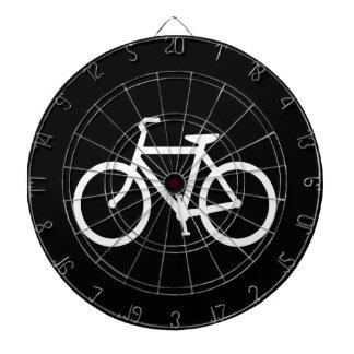 White Bike Route Dartboard