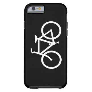 White Bike Route Tough iPhone 6 Case