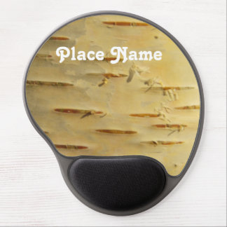 White Birch Gel Mouse Pad