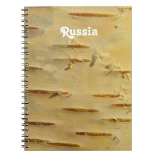 White Birch Spiral Note Books