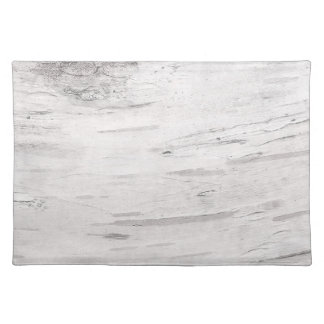 White Birch Wood Rustic Country Farmhouse Barn Placemat