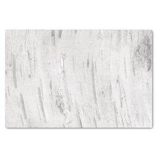 White Birch Wood Rustic Country Farmhouse Barn Tissue Paper