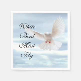 White Bird Disposable Napkin