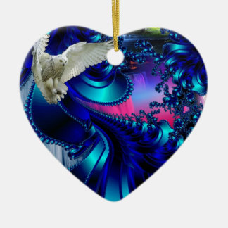 White Bird.jpg Christmas Ornament